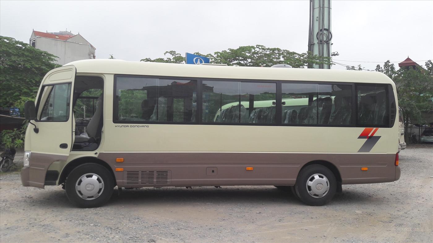 Xe Hyundai County 29 chỗ Đồng Vàng