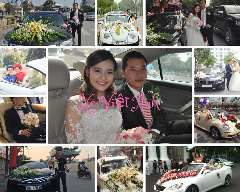 Hàng nghìn khách hàng đã hài lòng về dịch vụ thuê xe cưới hỏi Việt Anh