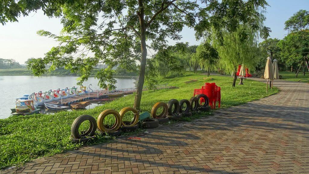 Một số hình ảnh tại Công viên Yên Sở: