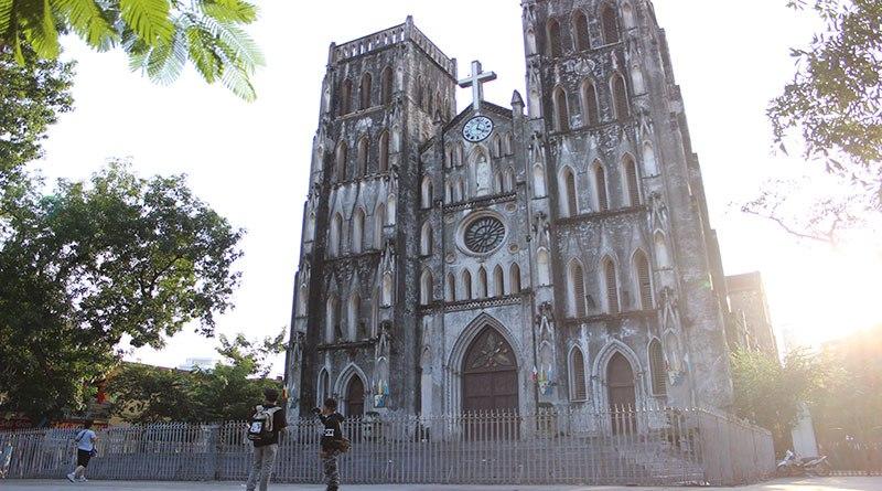 Hình ảnh chụp tại nhà thờ lớn Hà Nội
